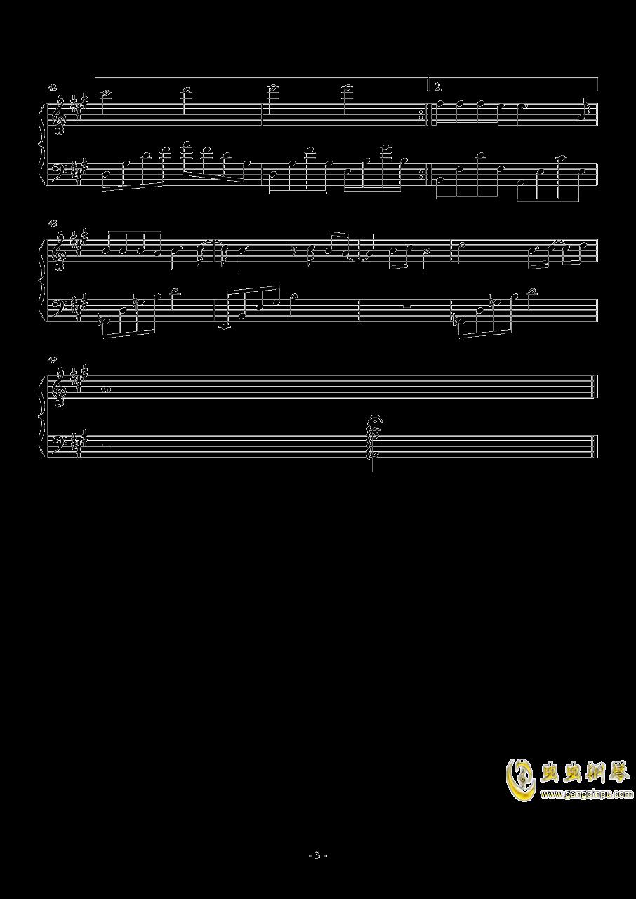 小欢喜钢琴谱 第3页