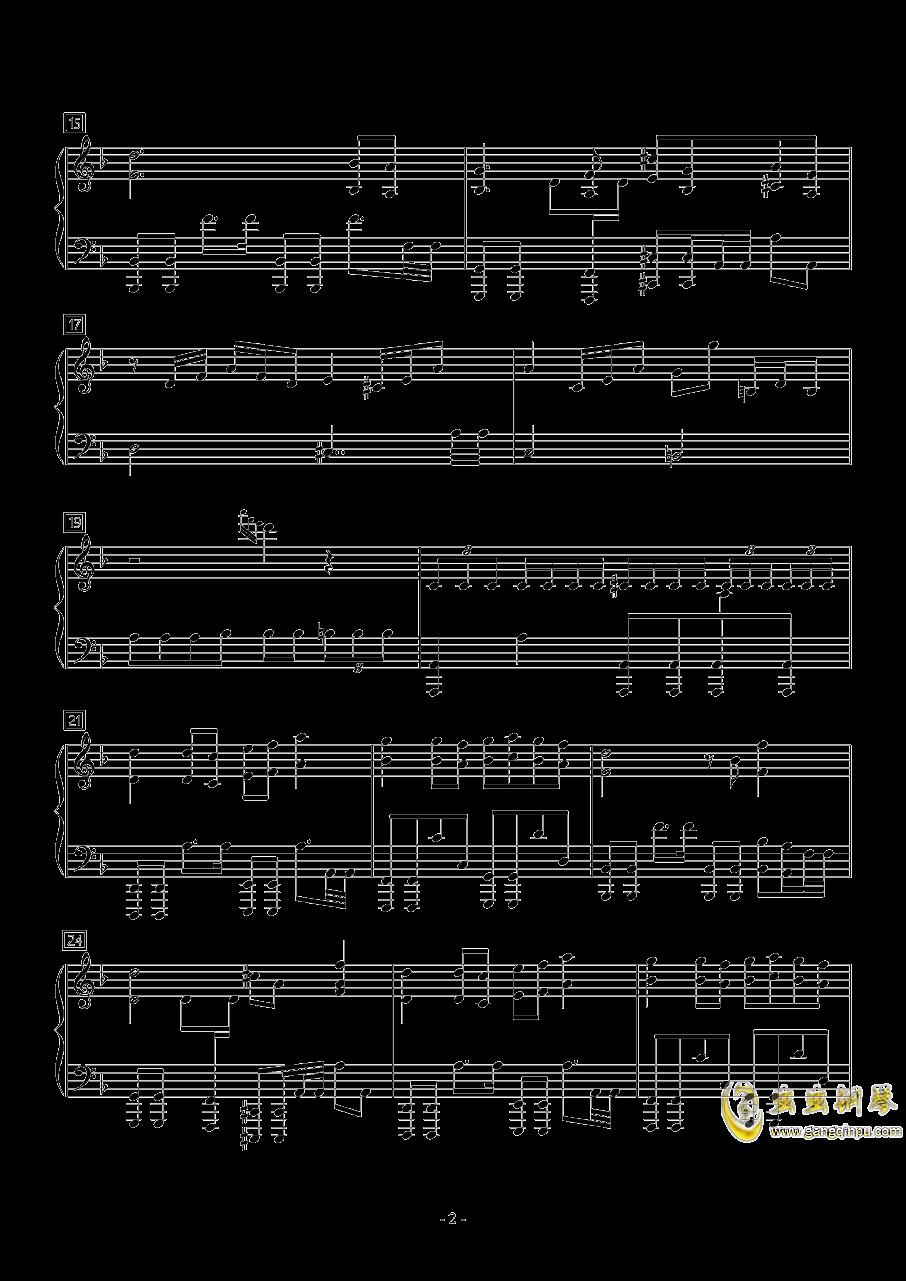 MEGALOBOX钢琴谱 第2页