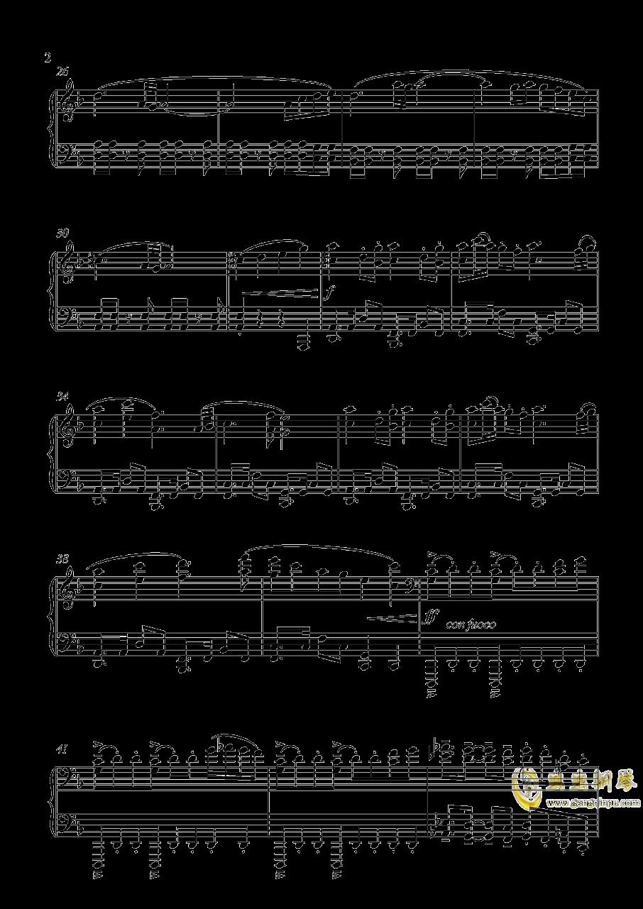 厚藤四郎 近侍曲钢琴谱 第2页