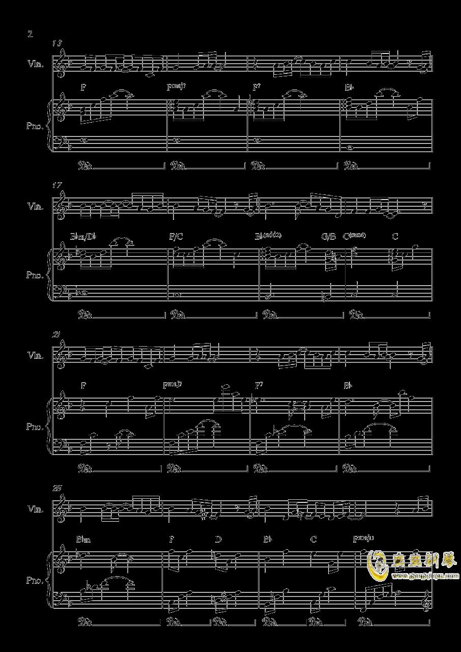 Long and deep X钢琴谱 第2页