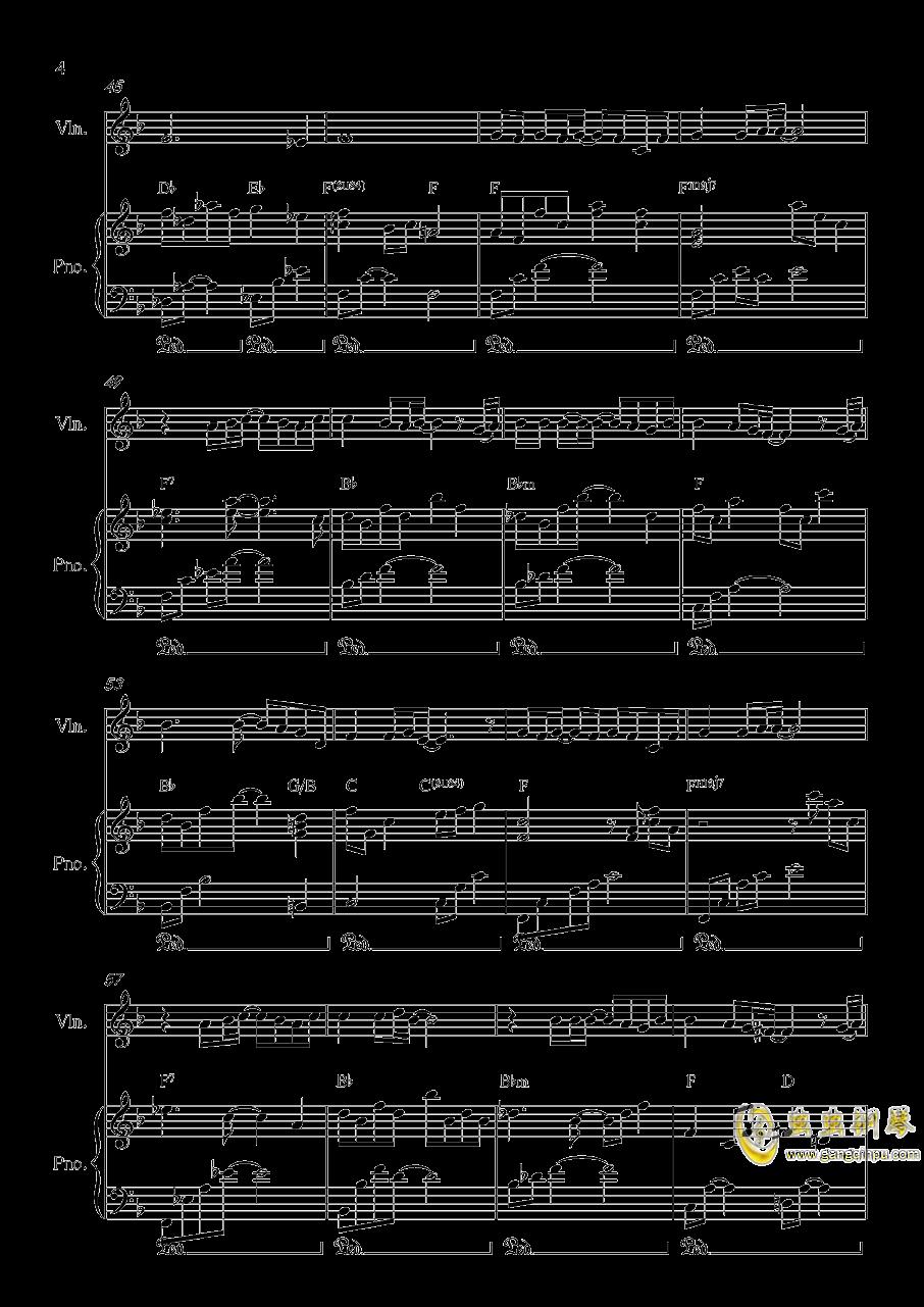 Long and deep X钢琴谱 第4页