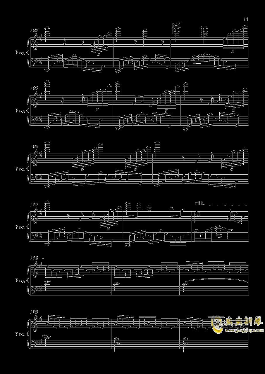 底特律OP钢琴谱 第11页