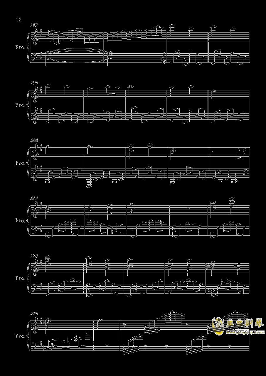 底特律OP钢琴谱 第12页