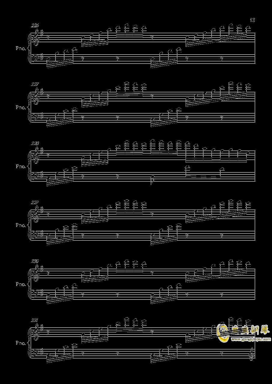 底特律OP钢琴谱 第13页