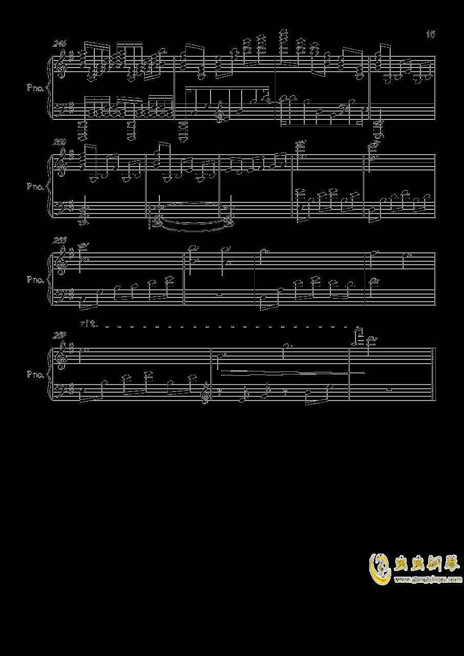 底特律OP钢琴谱 第15页
