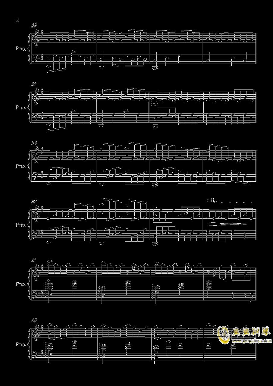 底特律OP钢琴谱 第2页