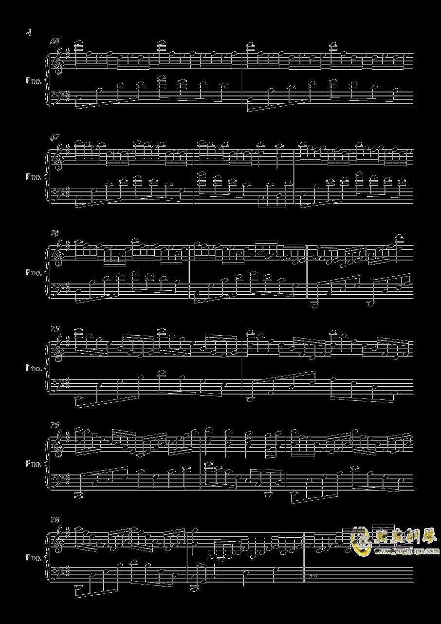 底特律OP钢琴谱 第4页