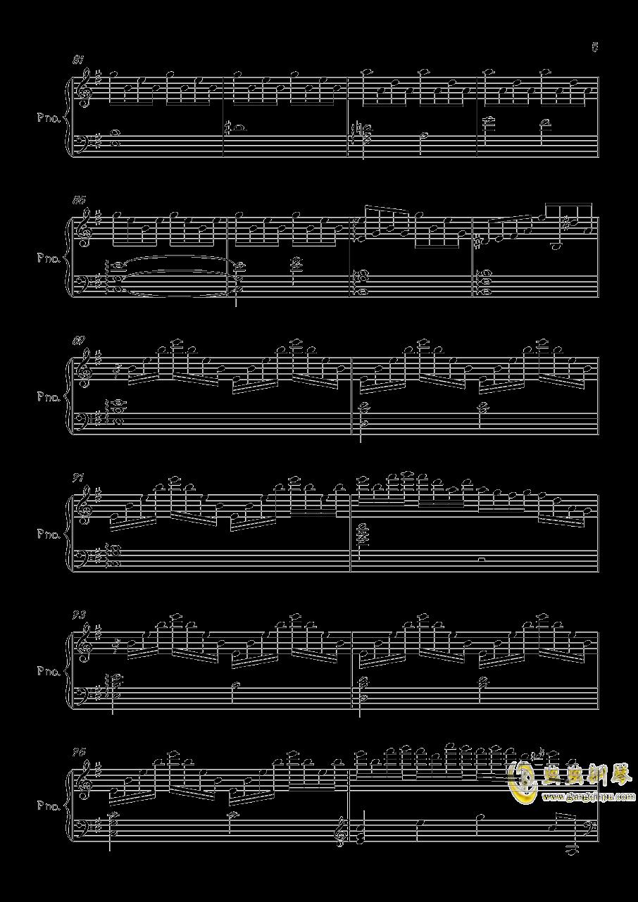 底特律OP钢琴谱 第5页