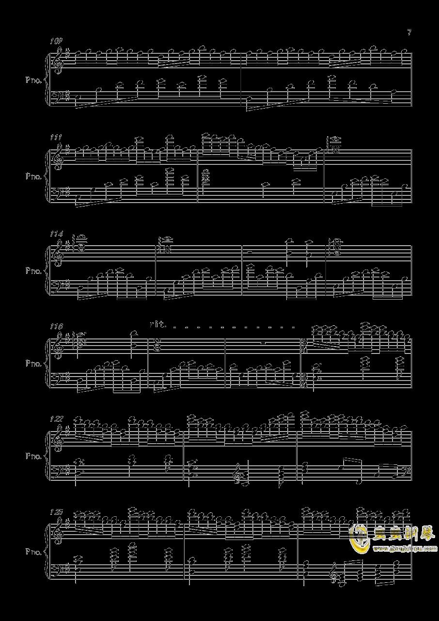 底特律OP钢琴谱 第7页