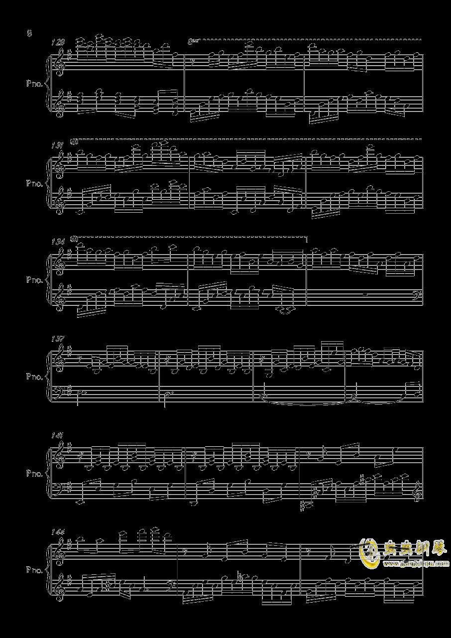 底特律OP钢琴谱 第8页