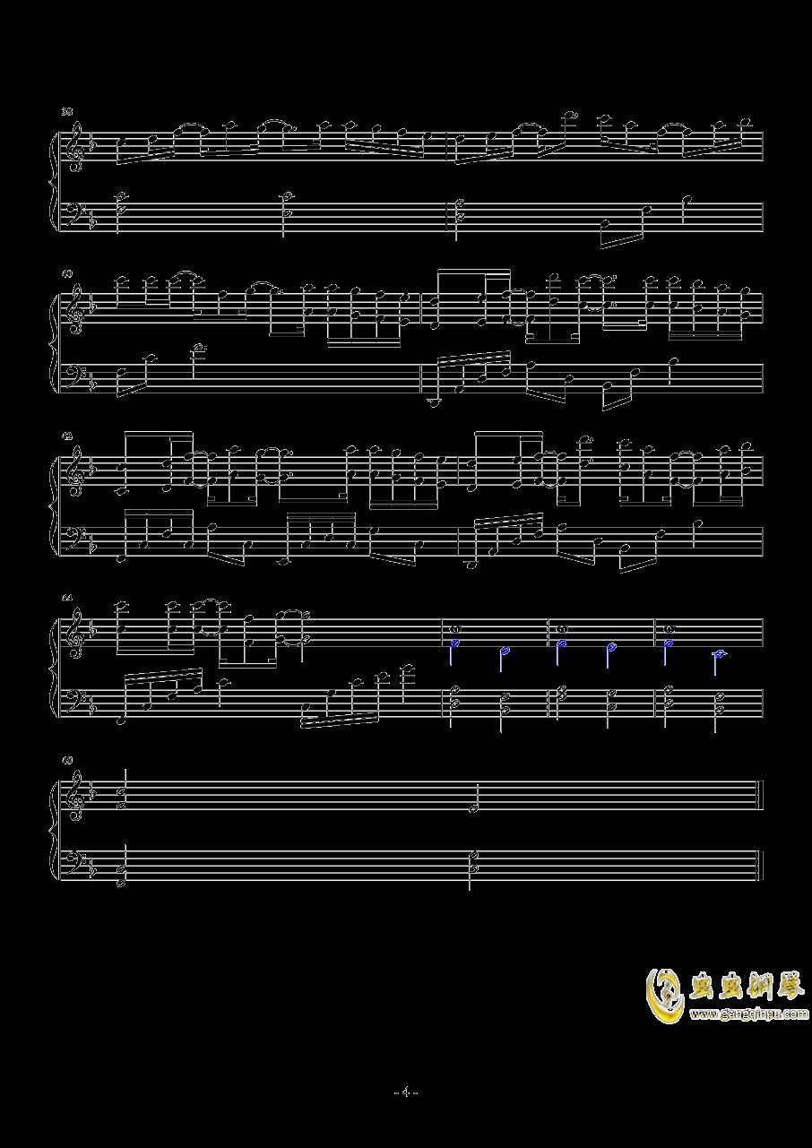 既视感钢琴谱 第4页