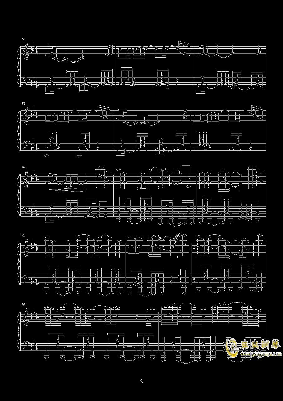 同道殊途钢琴谱 第2页