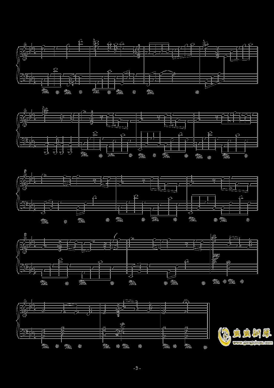 Cold Winter钢琴谱 第3页