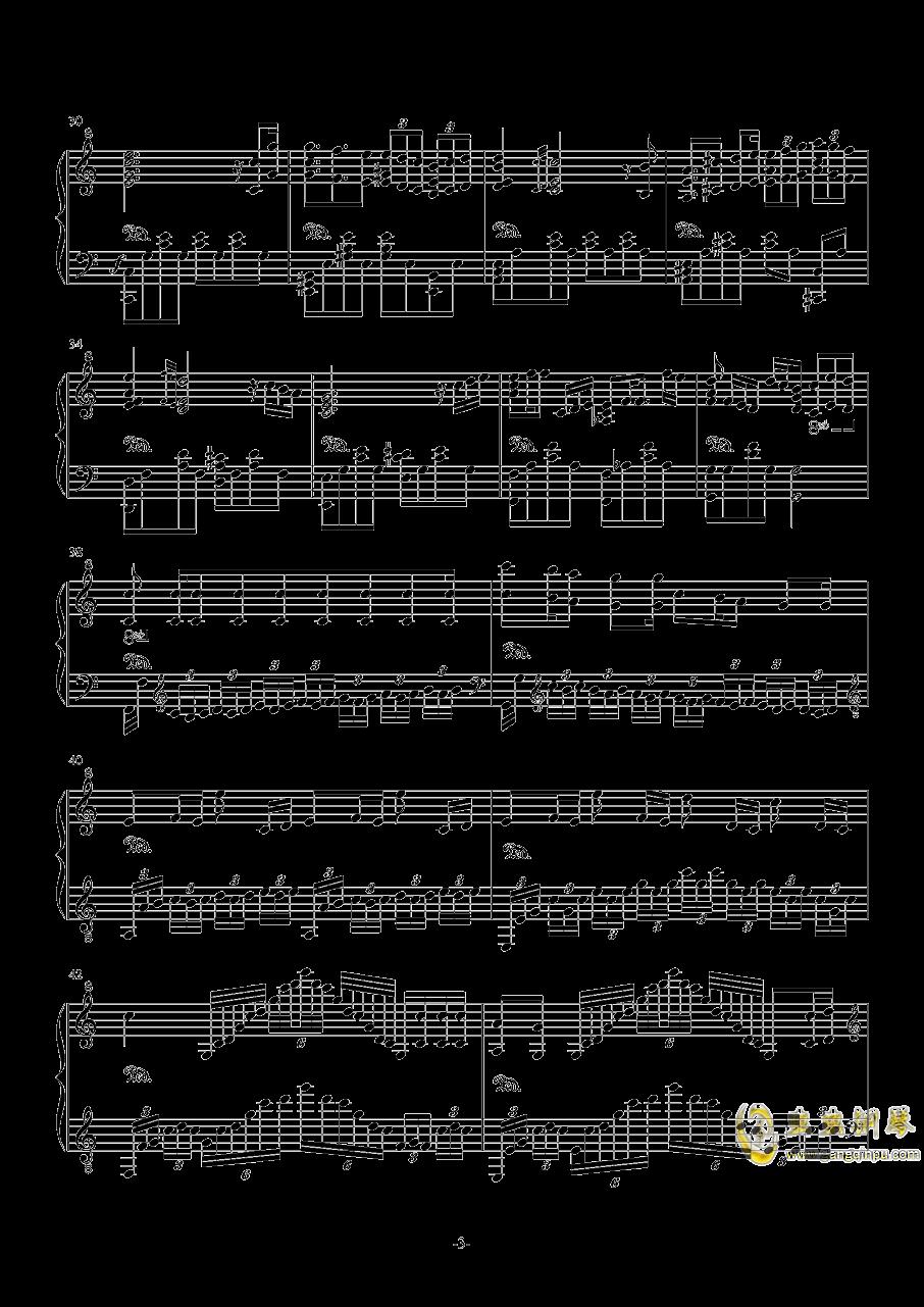 My Dearest钢琴谱 第3页