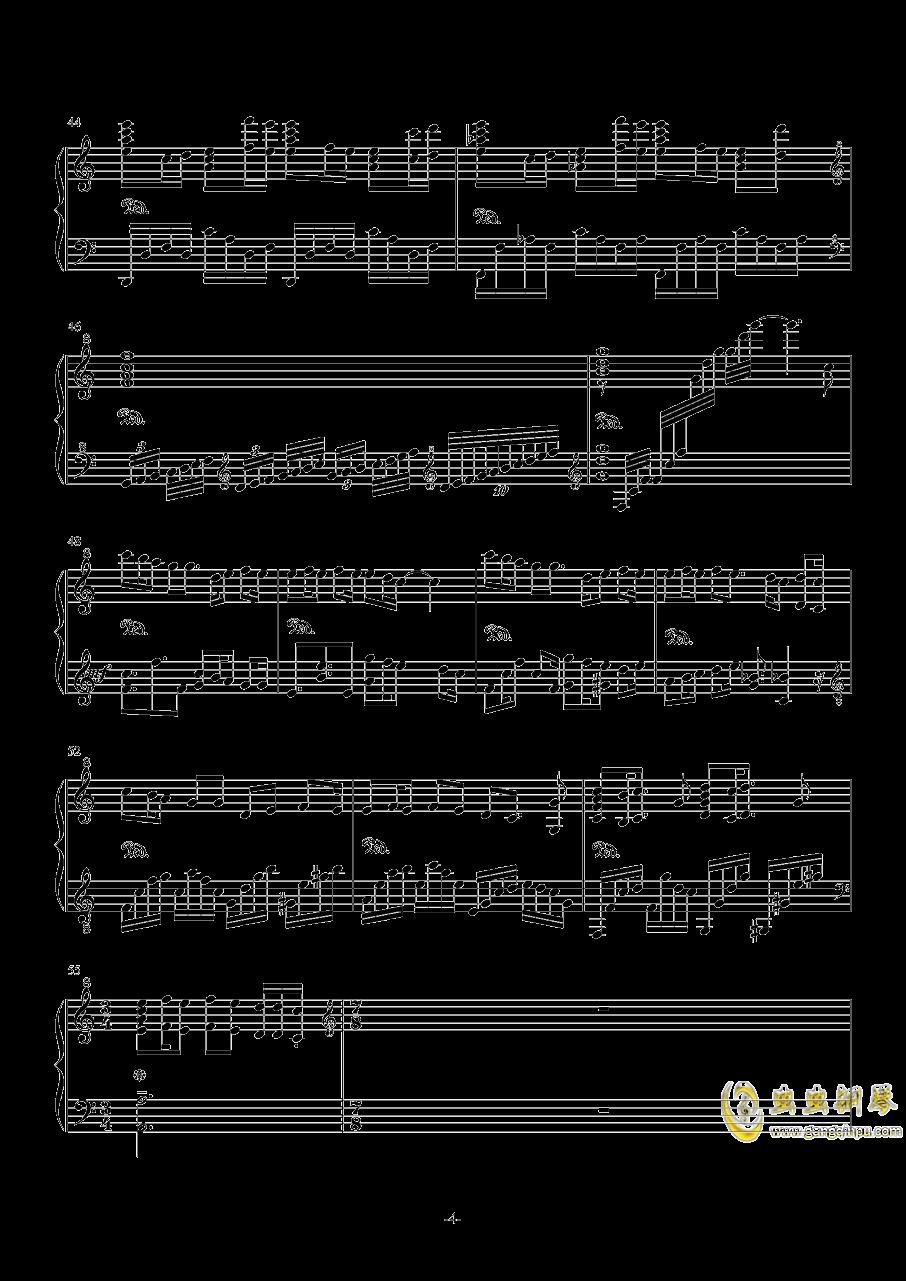 My Dearest钢琴谱 第4页