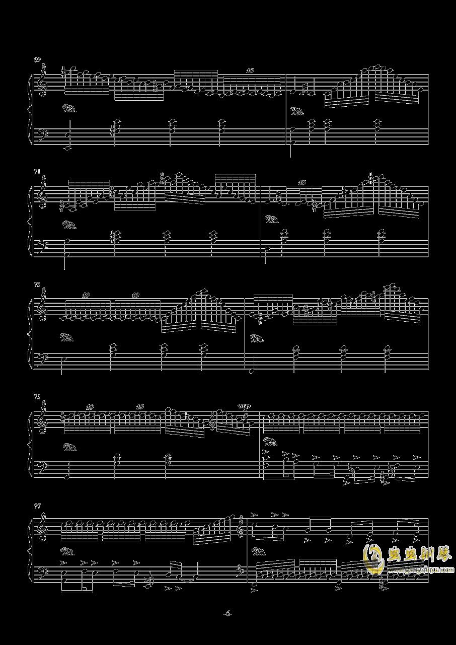 My Dearest钢琴谱 第6页