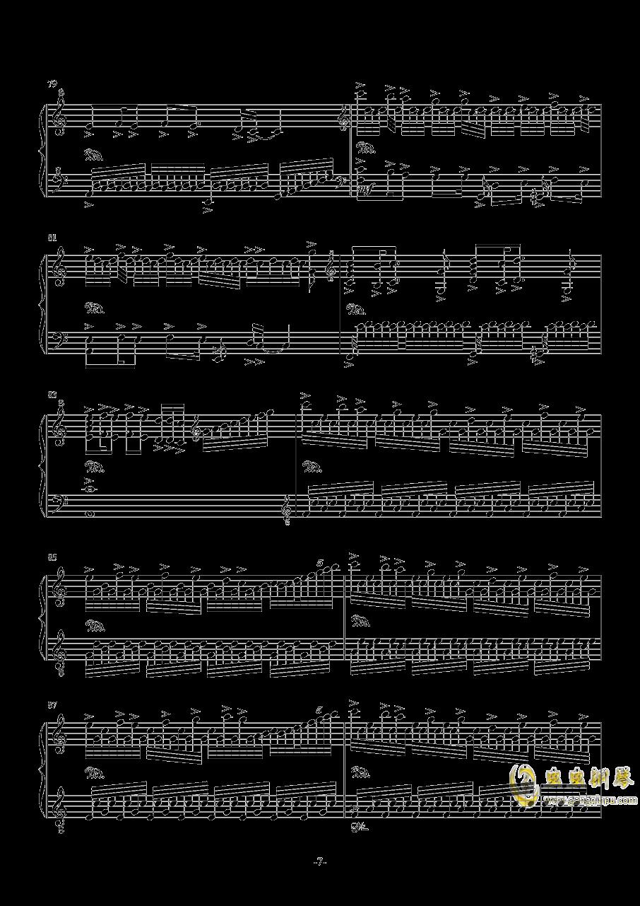 My Dearest钢琴谱 第7页