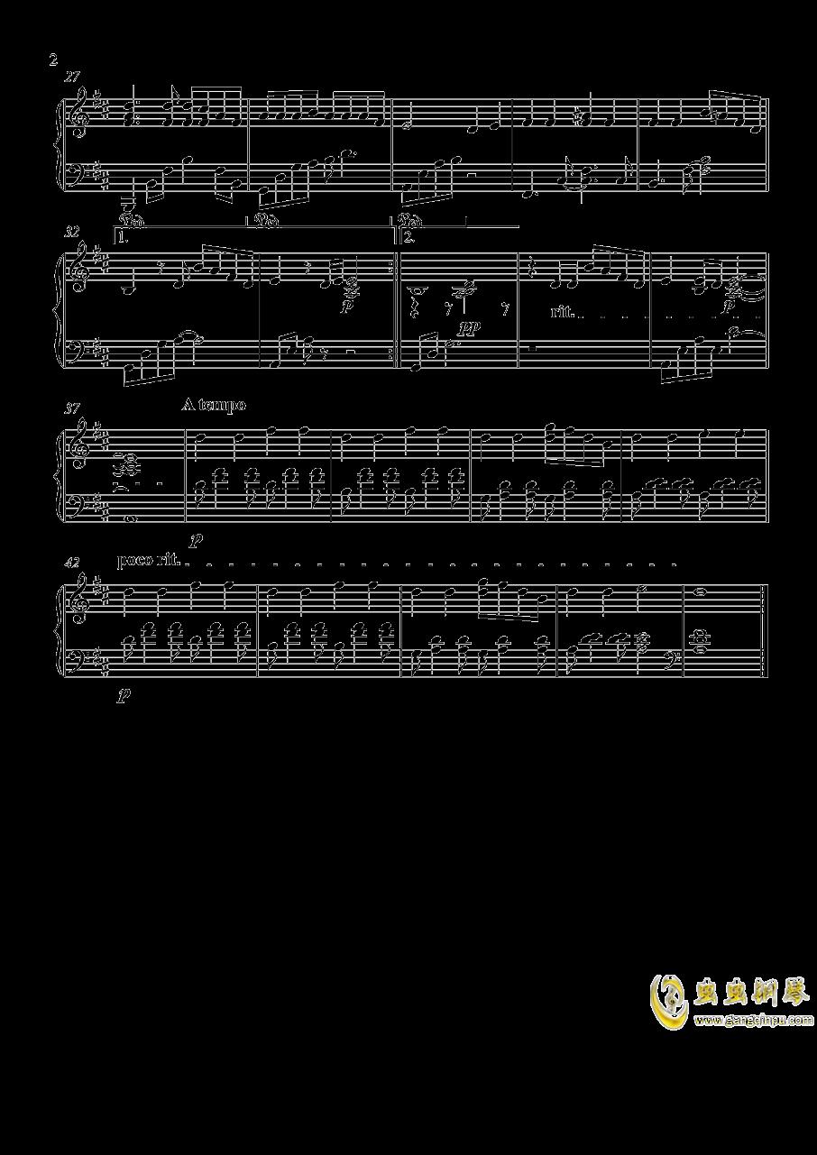 画钢琴谱 第2页