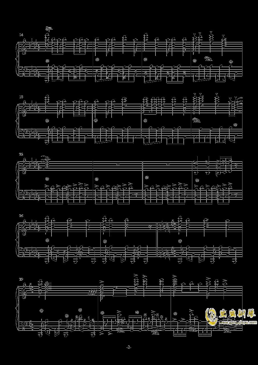 无礼之徒钢琴谱 第2页