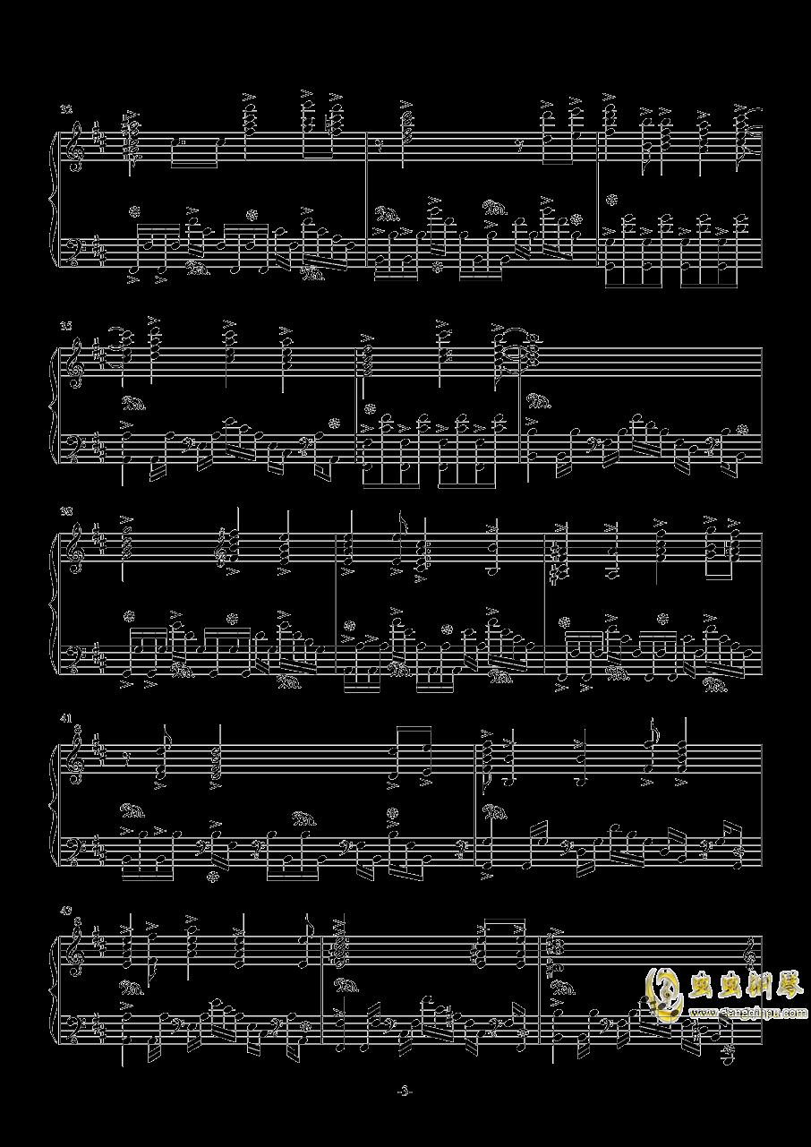 无礼之徒钢琴谱 第3页
