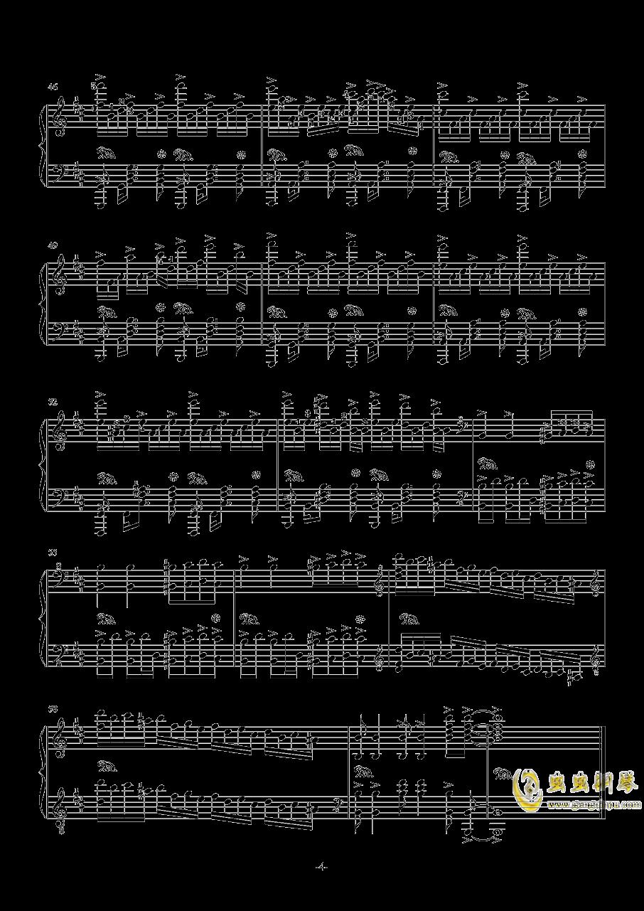 无礼之徒钢琴谱 第4页