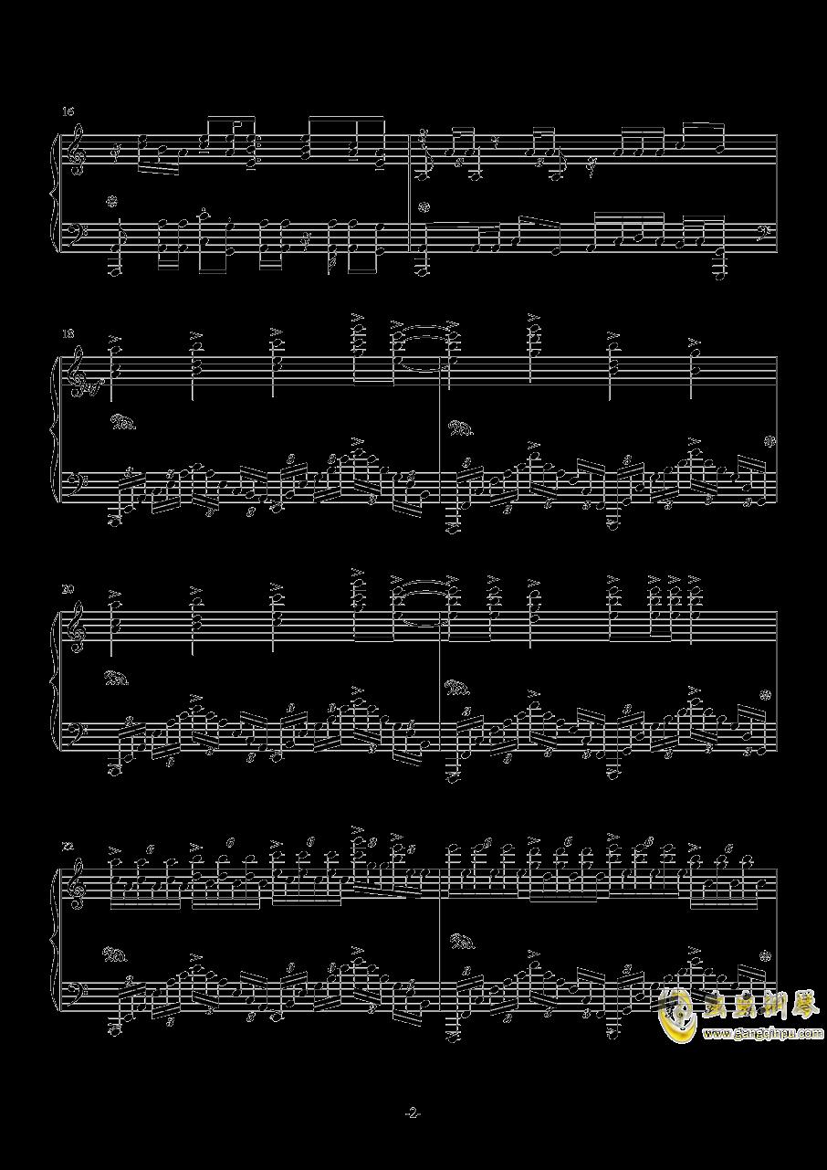 狂妄之徒钢琴谱 第2页