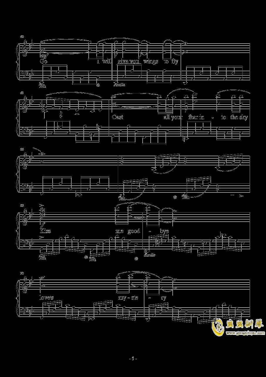 Kiss Me Good-Bye钢琴谱 第5页
