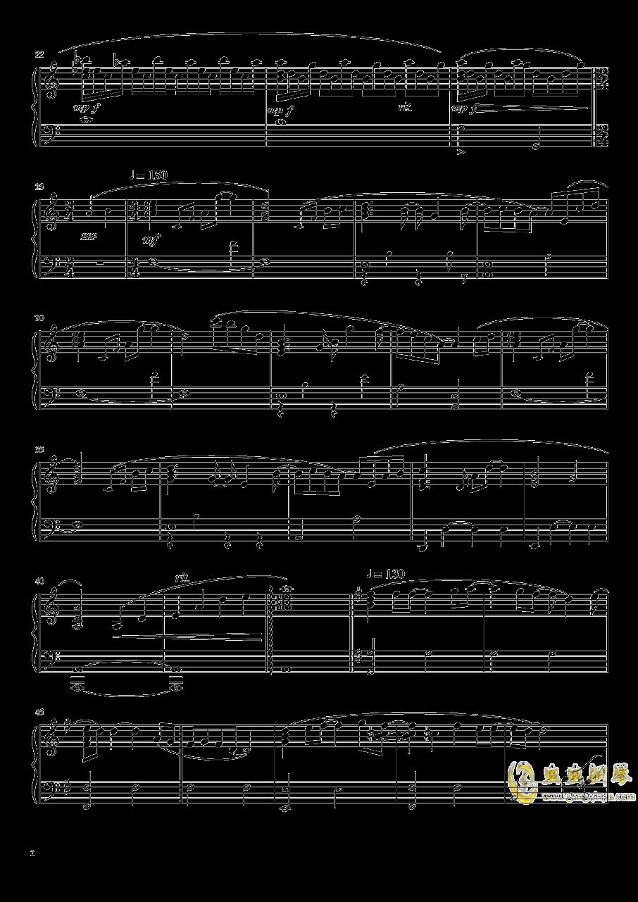 moonlight钢琴谱 第2页