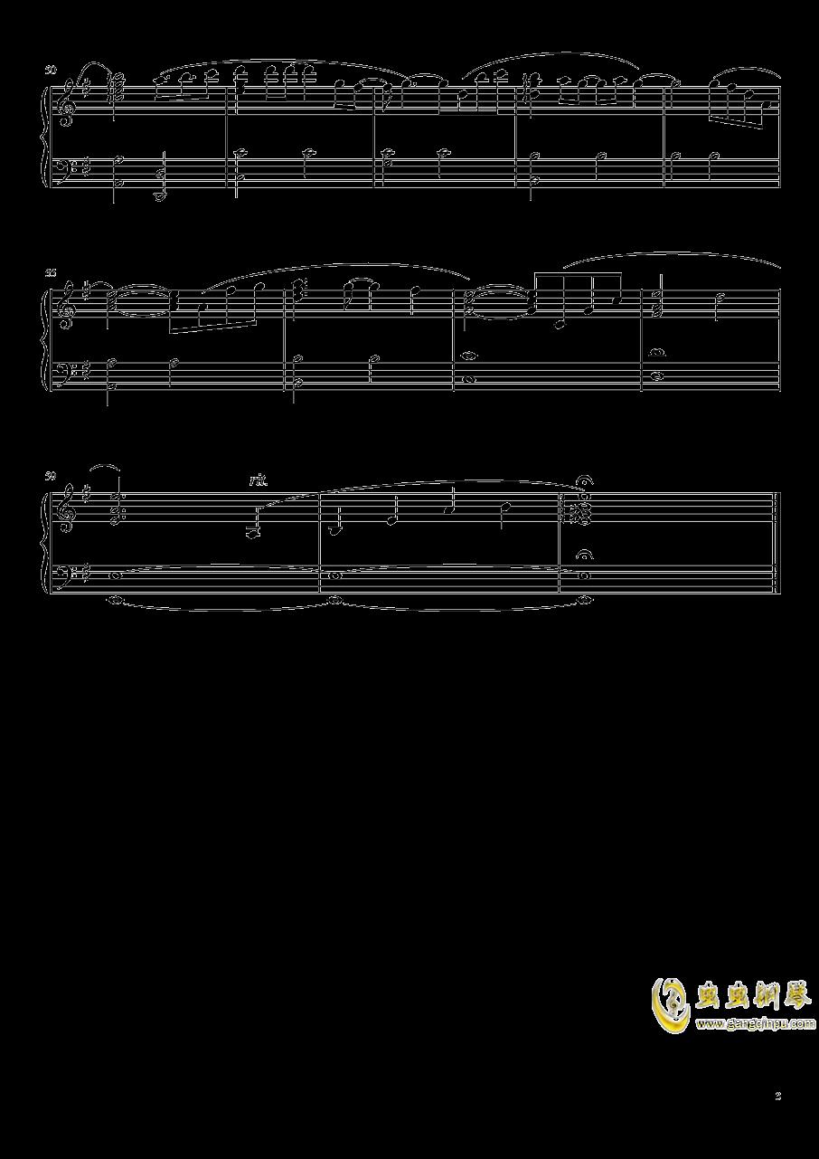 moonlight钢琴谱 第3页