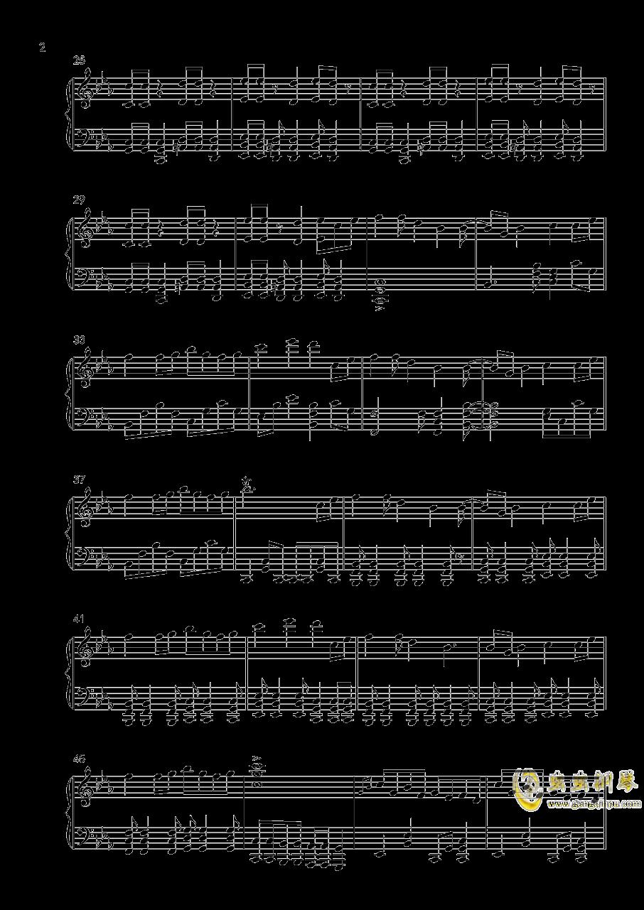 竹取飞翔钢琴谱 第2页