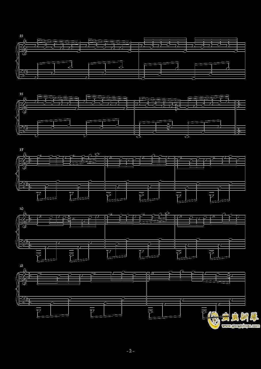 Knight钢琴谱 第2页
