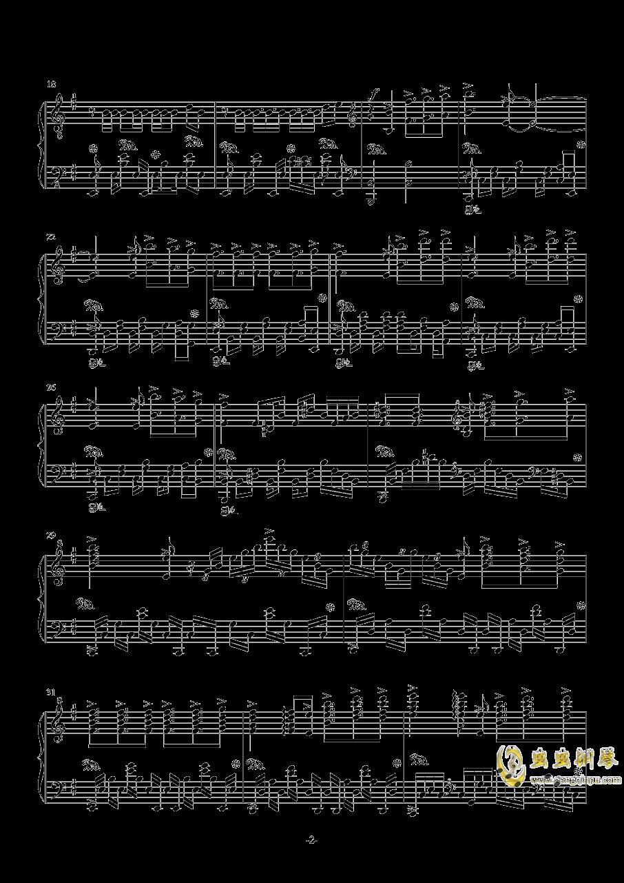 DO the Fight钢琴谱 第2页