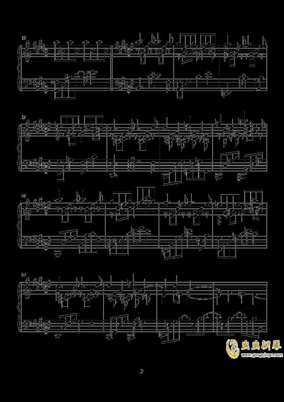 波纹钢琴谱 第2页