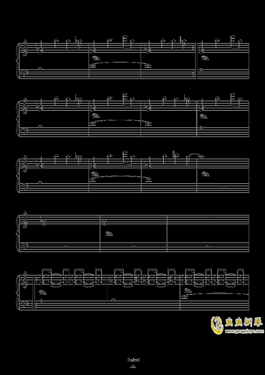 Going Home钢琴谱 第2页