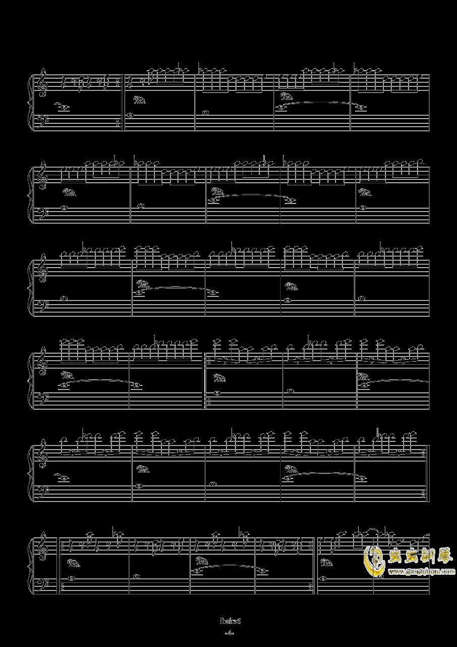 Going Home钢琴谱 第4页