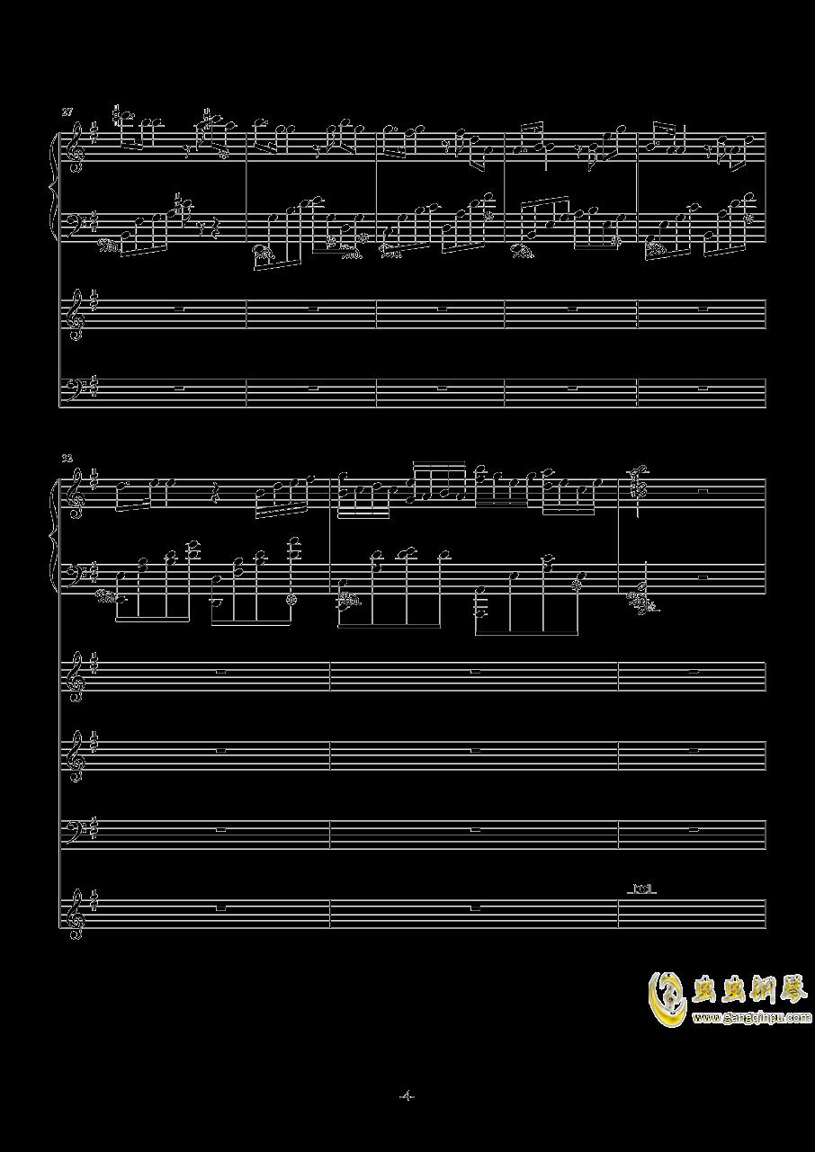 中��第二�狂想曲�琴�V 第4�