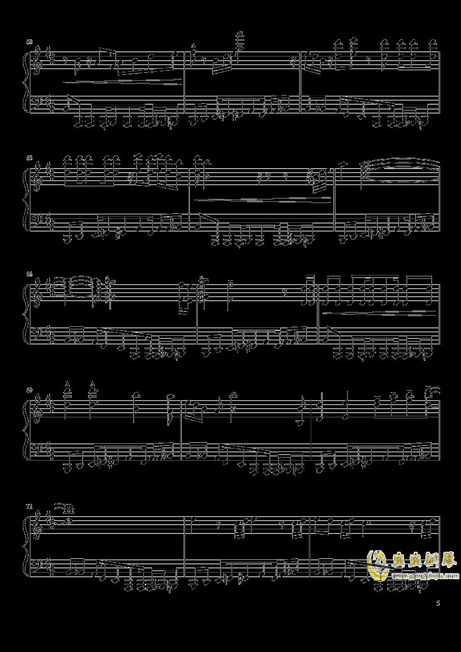 il vento d钢琴谱 第5页