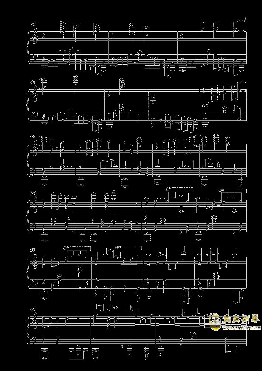 落花劫钢琴谱 第3页
