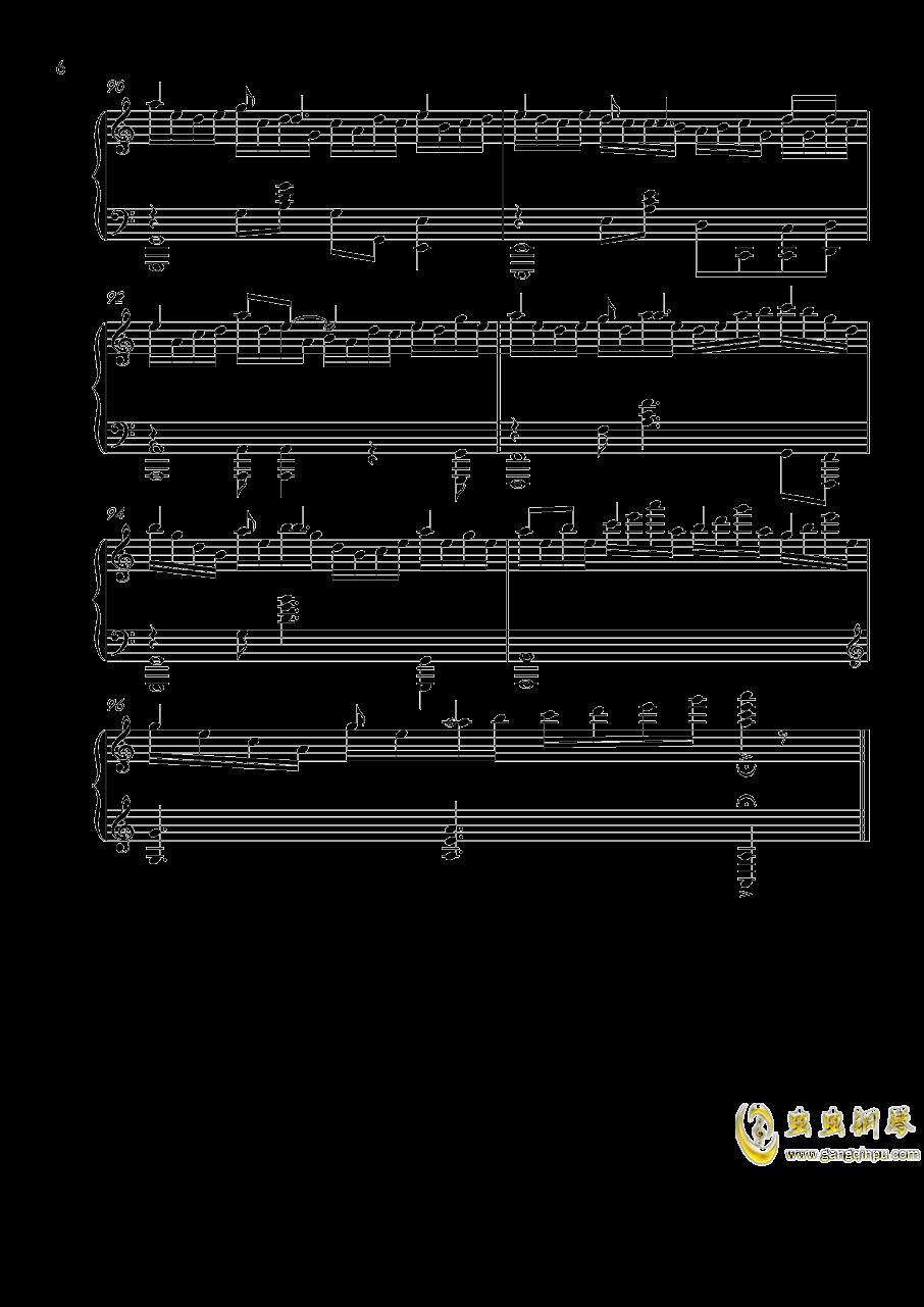 落花劫钢琴谱 第6页