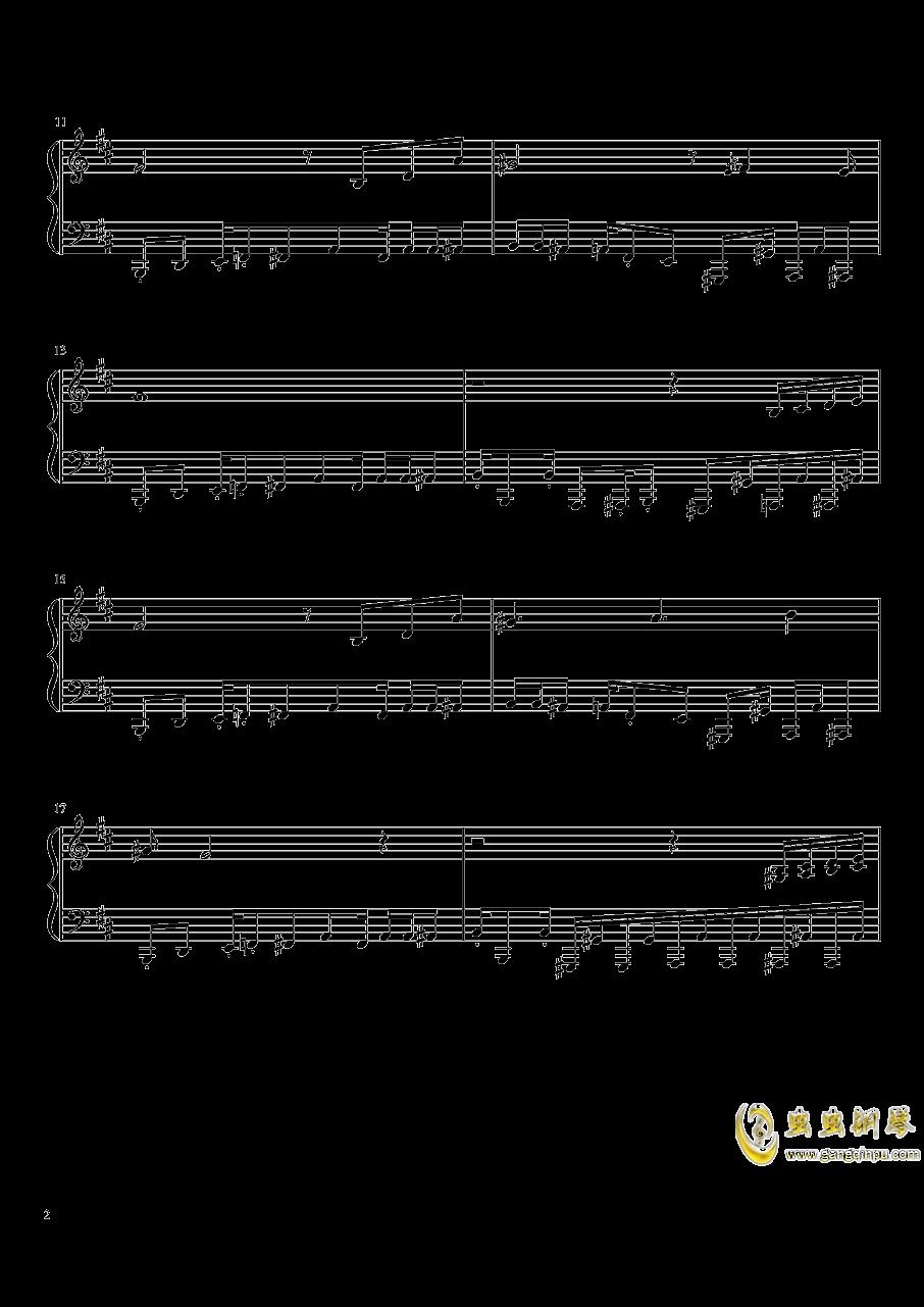 il vento d钢琴谱 第2页