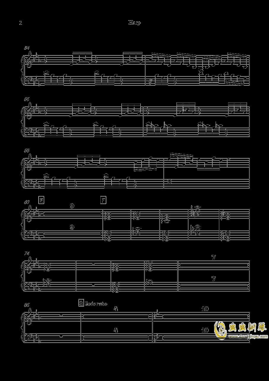 再别童年钢琴谱 第86页