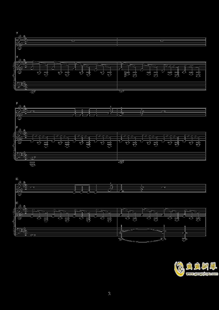 星星坠落时钢琴谱 第2页