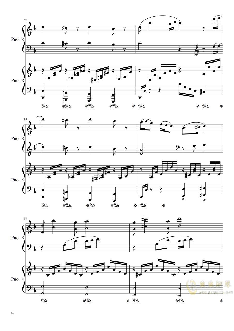 Symphonic Dance NO.1 (未完成)�琴�V 第16�