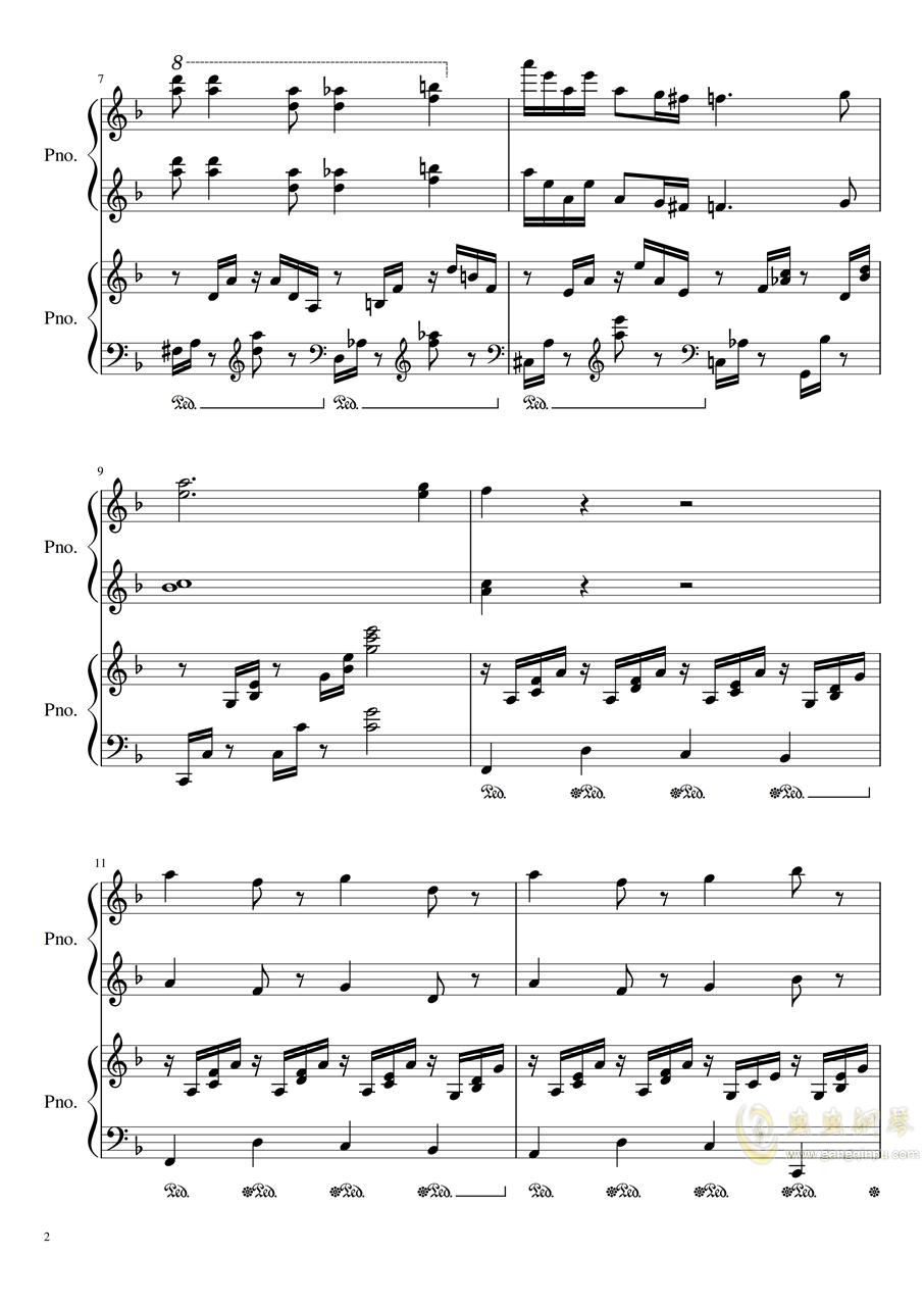 Symphonic Dance NO.1 (未完成)�琴�V 第2�