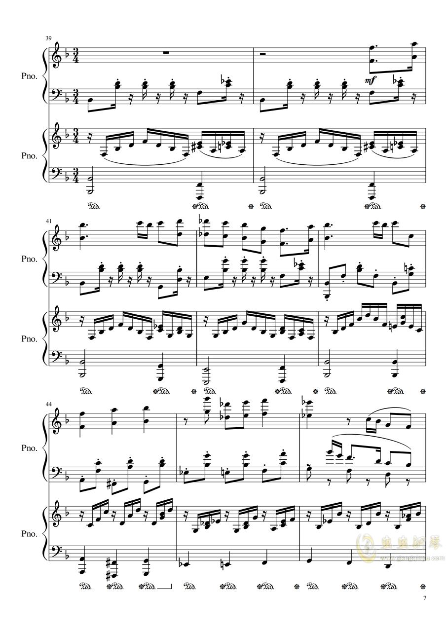Symphonic Dance NO.1 (未完成)�琴�V 第7�