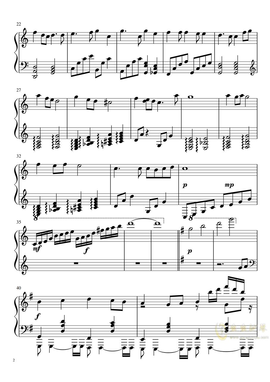 新年好(琴童拜年�易版)�琴�V 第2�
