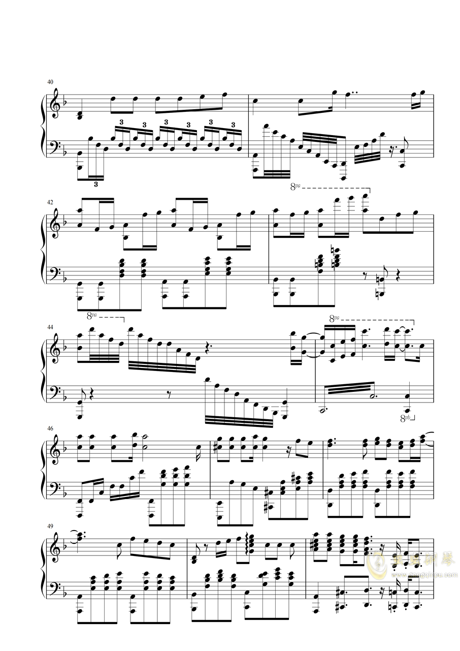 【特效�琴】灶�T炭治郎之歌 鬼�缰�刃EP19 ED Demon Slayer - by PianiCast�琴�V 第4�