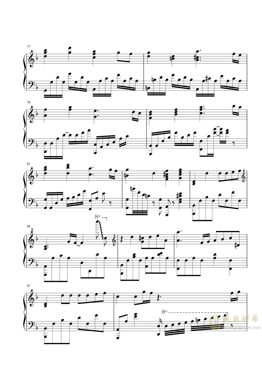 【特效�琴】灶�T炭治郎之歌 鬼�缰�刃EP19 ED Demon Slayer - by PianiCast�琴�V 第7�