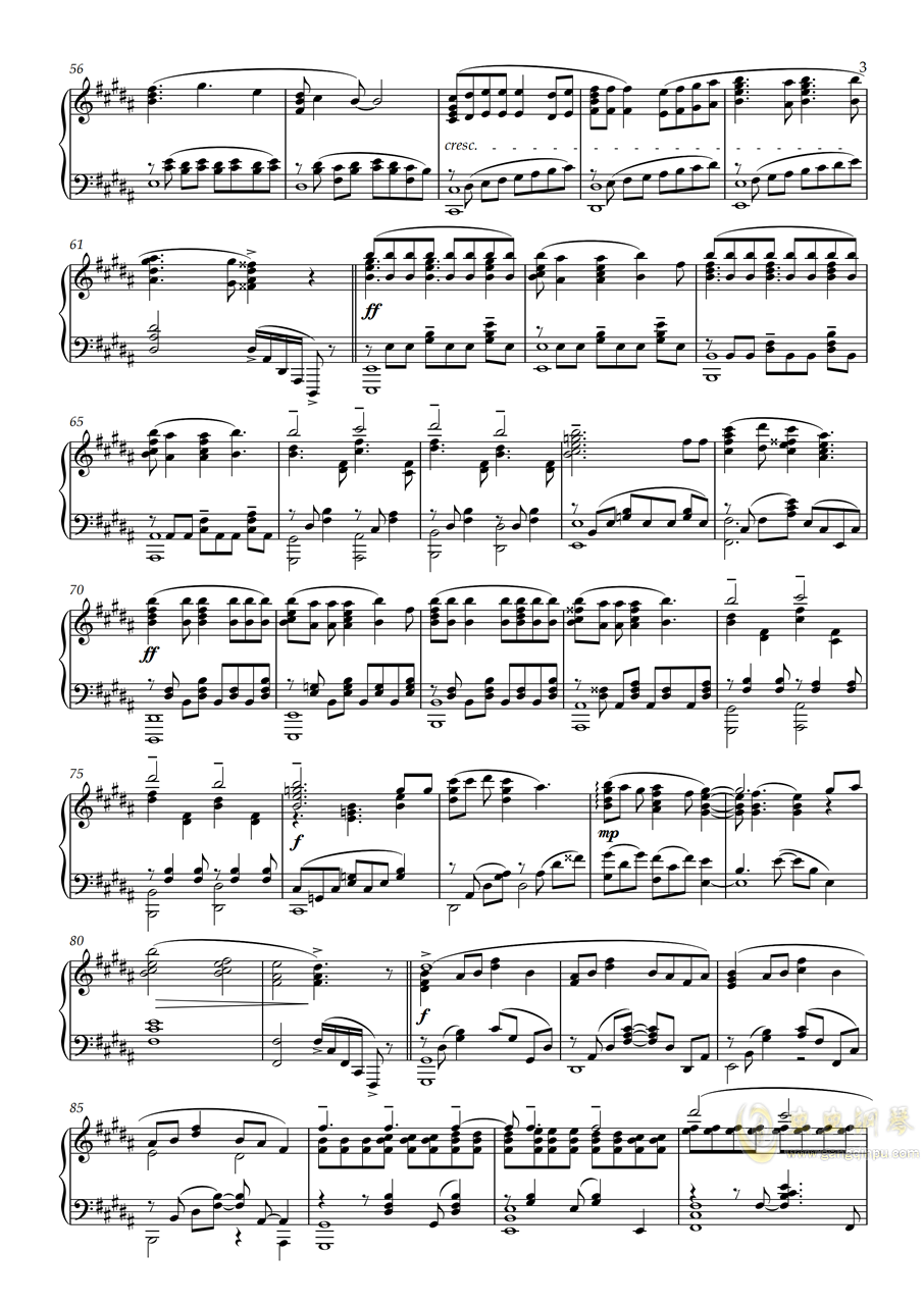 【Animenz】Sayonara Memories - Supercell 再见了,回忆钢琴谱 第3页