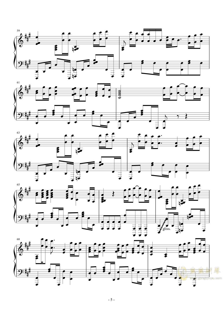 钢琴幽灵简谱_幽灵公主简谱